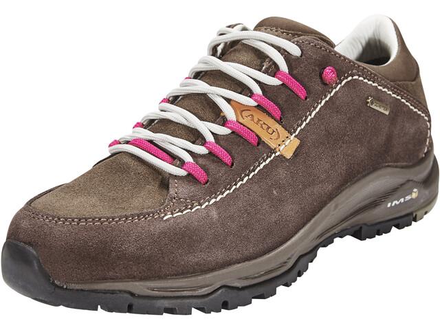 AKU Nemes Suede Low GTX Shoes Women Brown/Magenta